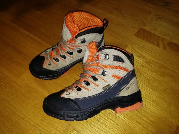 Термо ботинки кожаные зимние Everest WaterTex 32 размер