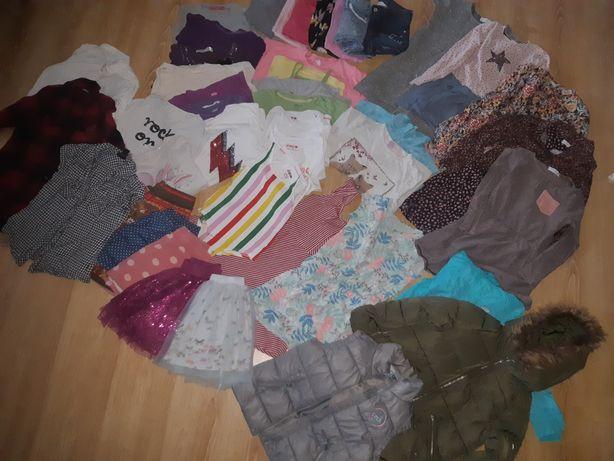 Paka 128 dziewczynka zara zestaw ubrań