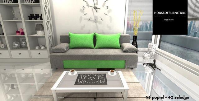 wersalka sofa kanapa rozkładana łóżko BLANCA mega hit promocja