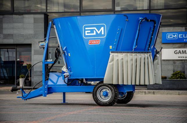 Wóz Paszowy / Paszowóz EUROMILK Rino FX800 (8m3)