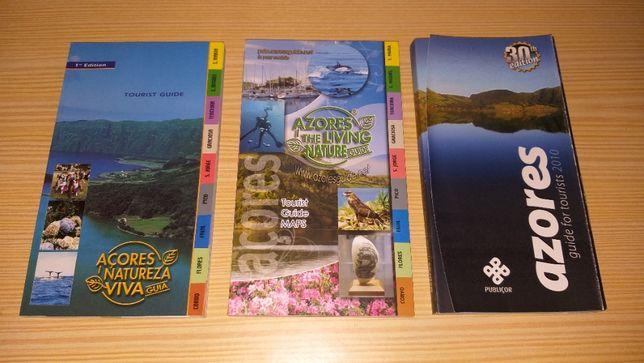 3 Açores tourist guide in english/3 guias turísticos dos Açores em ing