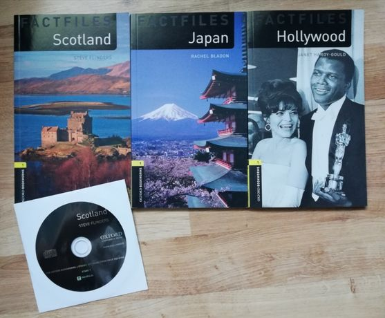 Factfiles Hollywood, Japan, Scotland