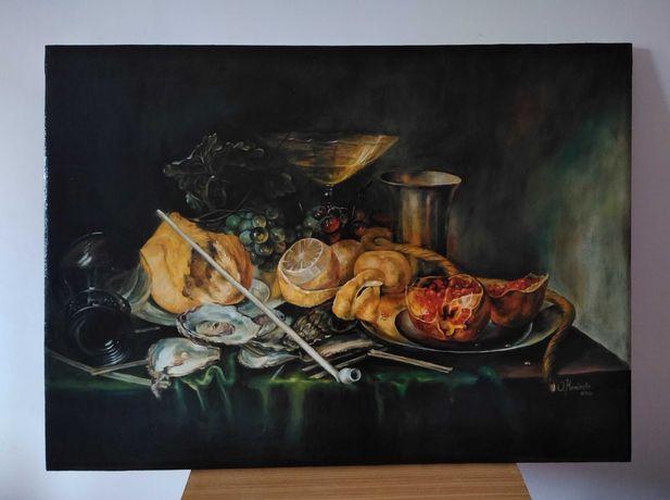 "Obraz ""Martwa natura"" w stylu holenderskim"