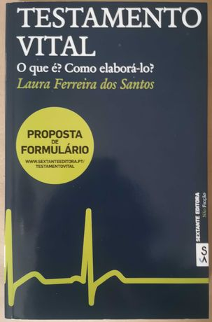 """O Testamento Vital"" de Laura Ferreira dos Santos"