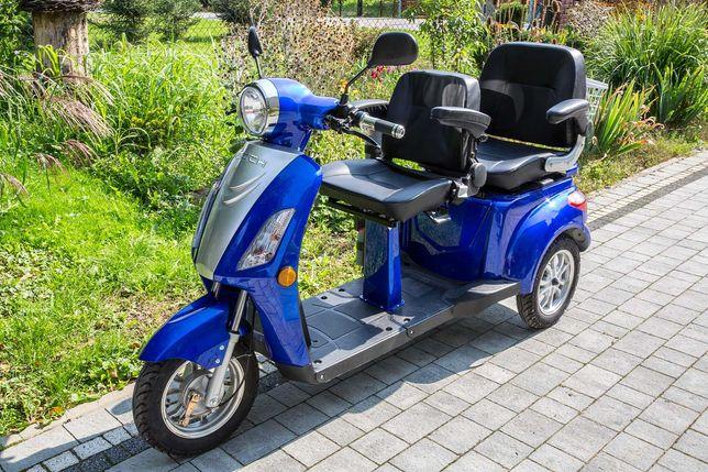 Pojazd elektryczny skuter inwalidzki dwuosobowy ZT 15 D Trilux+