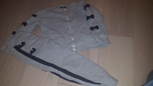 Zestaw/paka ubrań dla dziewczynki 116