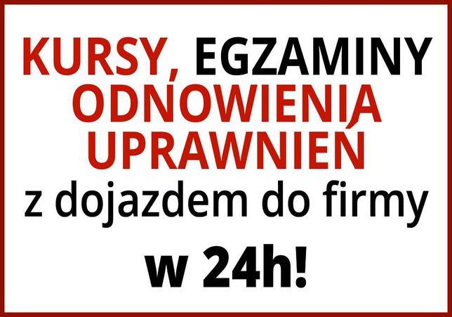 Kurs spawacza | Kurs spawania | Odnowienie upr. - w 24h - cała Polska!
