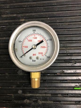 Manometr ciśnienia oleju hydraulicznego