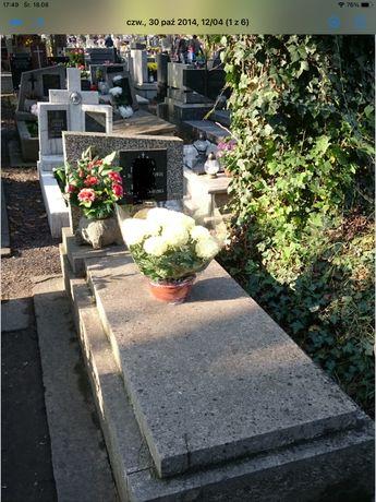Grób ziemny na cmentarzu Rakowickim