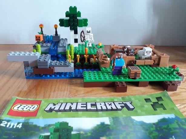 Klocki lego minecraft farma 21114 *stan idealny*