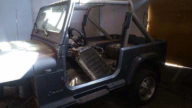 Jeep Wrangler para peças