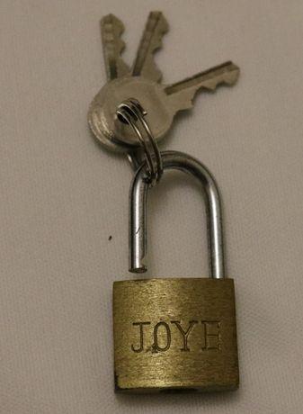 Замочек с ключом