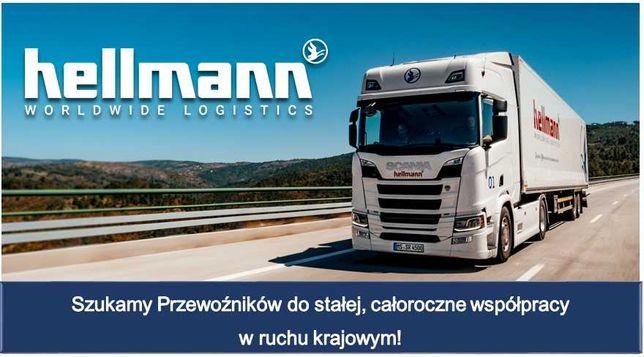 Zatrudnimy Przewoźników w transporcie krajowym Polska