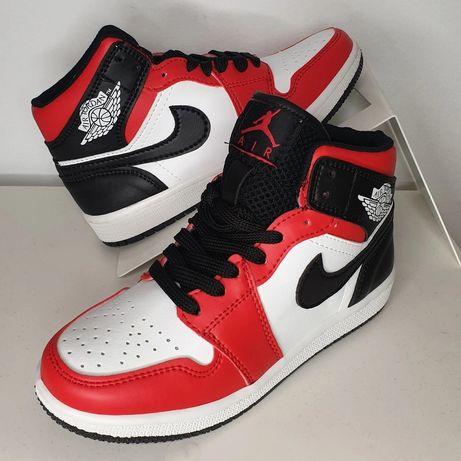 Bota Ténis vermelho Jordan Nike