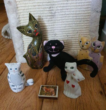 Koty figurki zabawki
