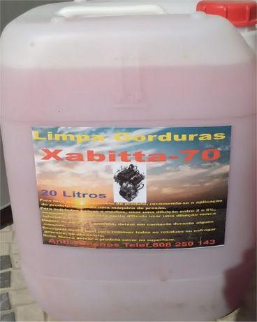 "20 Litros desengordurante para Oficinas Auto ""Xabitta-70"""