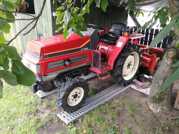 Traktorek Yanmar 4x4 asystent skrętu jak Kubota Iseki
