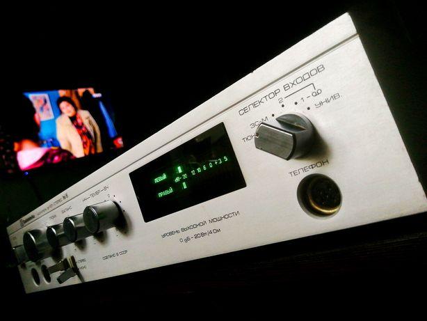 УСЕЛИТЕЛЬ! Radiotehnika У-101 стерео hi-fi. Радиотехника, бомба ракета