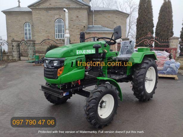 Мототрактор Булат Т-245 XL+Фреза 140+ВОМ+ДОСТАВКА мінітрактор трактор