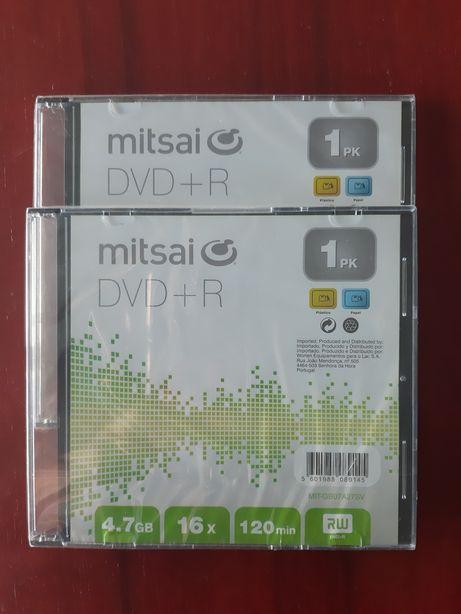 3 DVD-R Mitsai novos