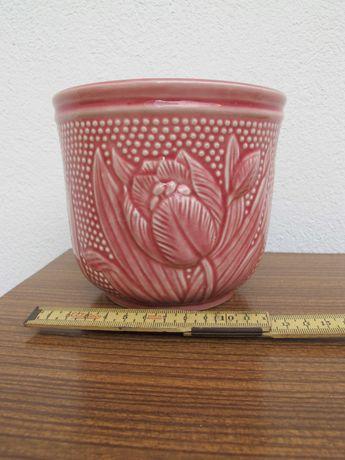 Cachepot SECLA - Vaso em Faiança Antigo