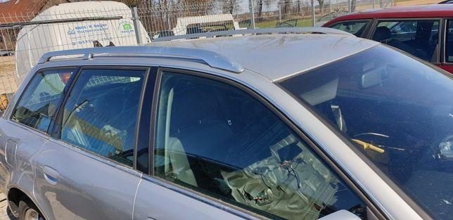 Relingi dachowe Audi A4 B5 chrom komplet