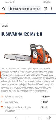 Sprzedam piłę spalinową Husqvarna model 120MII