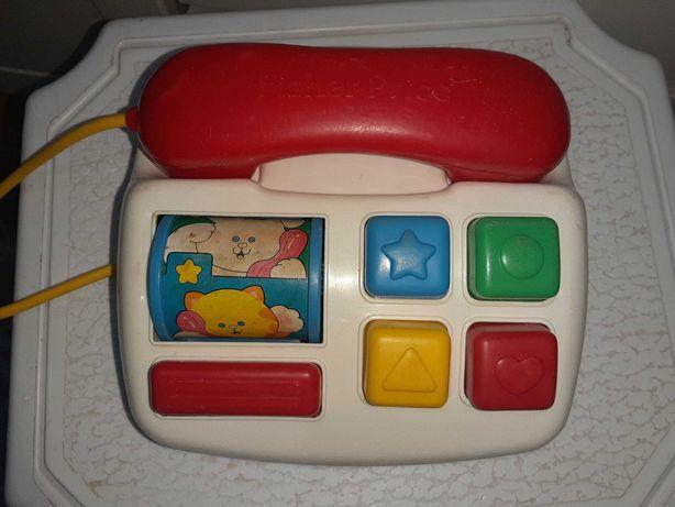 Zabawka telefon Fisher Prace