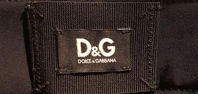 Oryginalne, eleganckie spodnie Dolce & gabbana, rozmiar 38