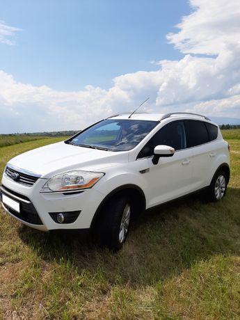 Ford Kuga 2.0TDCI BIAŁY/Drugi właściciel /Zadbany+ opony zimowe
