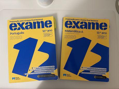 Livros de preparação para exame nacional