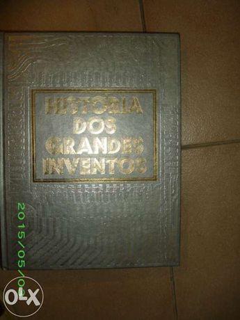 """Livro """"História dos grandes inventos"""""""