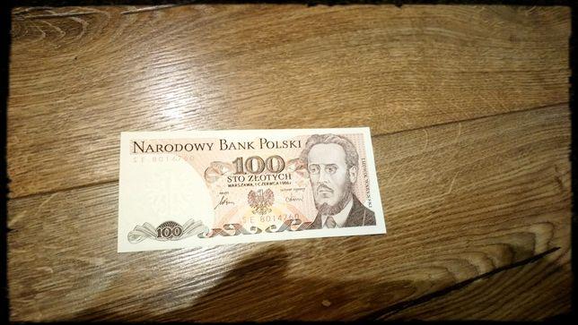 100zł banknot PRL