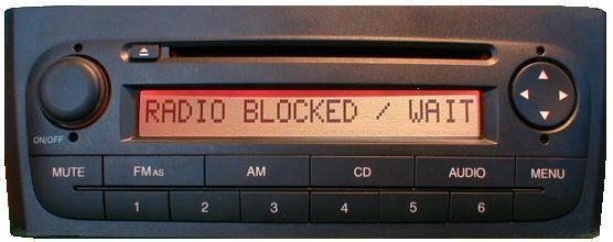 Radio Nawigacja CODE SAFE / KOD radio / PIN radio / rozkodowanie radia