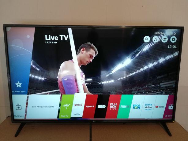 Smart TV LED LG 4K 55UK6200PLA 139cm