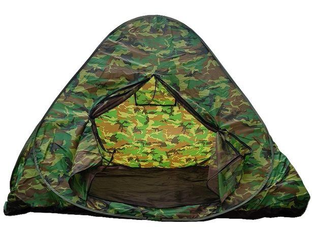 Namiot 4 osobowy samorozkładający moro 2mx2m