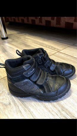 Clarks ботинки зимние