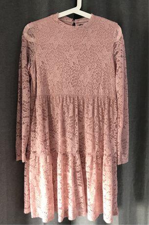 Sukienka Mohito S- pudrowy róż