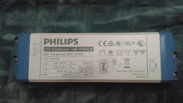 Philips zasilacz 24 volt, 60 watt