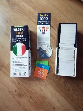 Włoski. 1000 fiszek