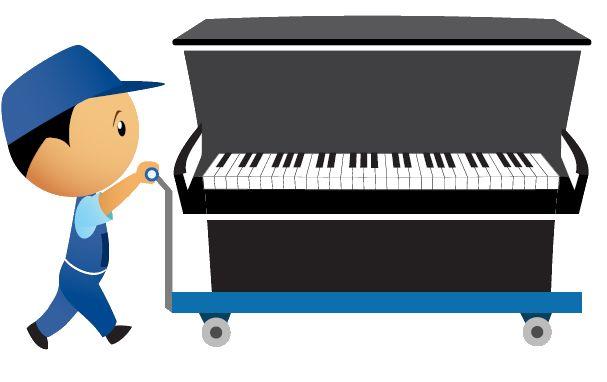Transporte de pianos, faça seu orçamento