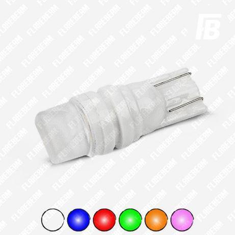 Лампы LED/ЛЕД светодиодные T10 W5W габарит поворот диодные лампочки