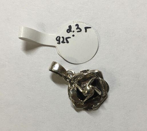 Кулон подвеска серебро