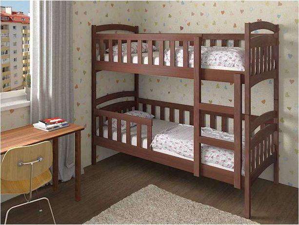 Двоярусне ліжко Білосніжка