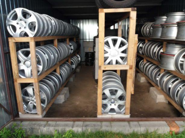 Felgi stalowe aluminiowe oraz opony letnie zimowe od 13 do 20 cali