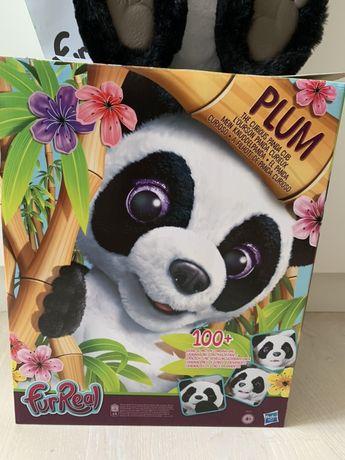 Интерактивный медведь мишка Панда Cub FurReal Plum Hasbro
