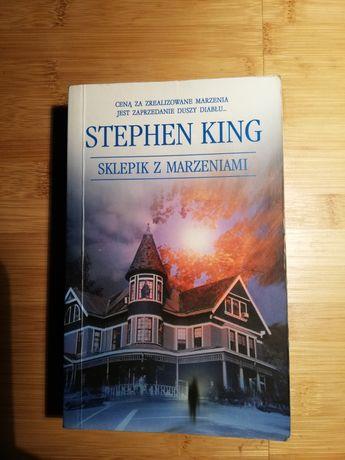 Sklepik z marzeniami książka Stephen King