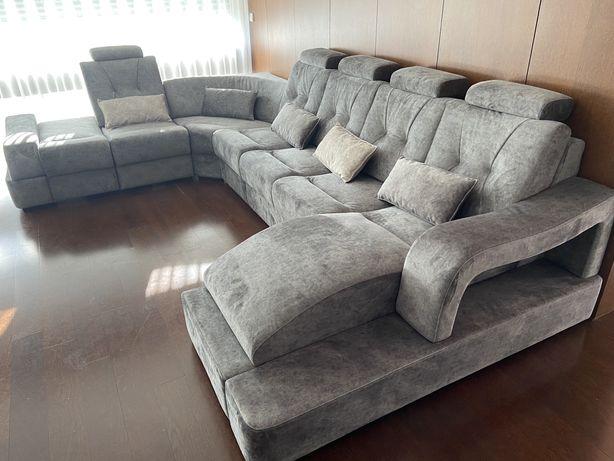 Sofa de canto com chaiselong