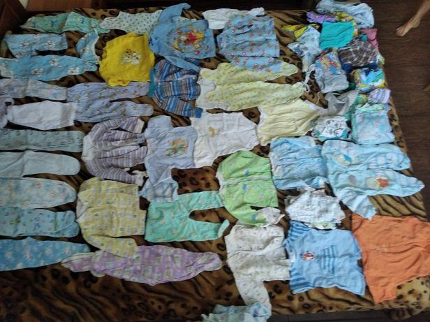 Комплект вещей на новорожденного и до года