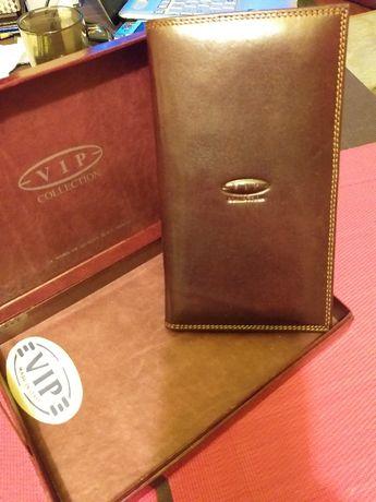 Portfel męski skórzany Vip Collection